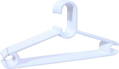 Enrich Plastic Plastic Pack of 6 Cloth Hangers