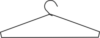 Victory Traders Iron Pack of 12 Cloth Hangers