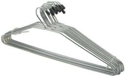 Raj Hangers Steel Pack of 12 Cloth Hangers
