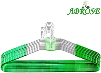 ABROSE Steel Pack of 10 Cloth Hangers