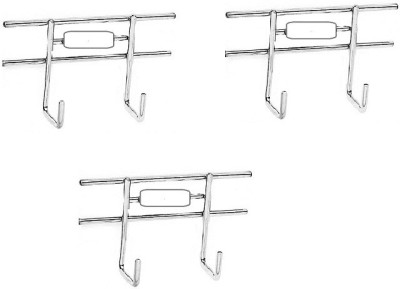 Kitchen Design Stainless Steel Pack of 3 Cloth Hangers
