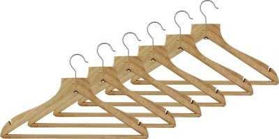Dinette Wooden Pack of 6 Cloth Hangers