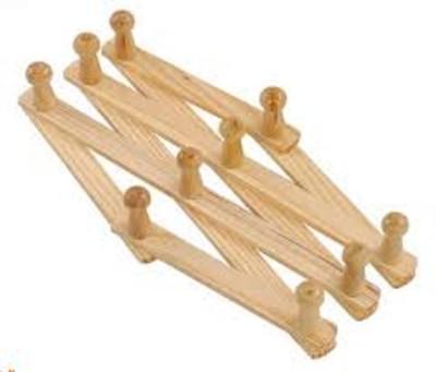 Magnusdeal Wooden Cloth Hanger