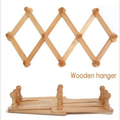 Connectwide Wooden Cloth Hanger