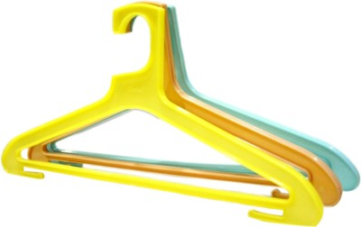 Chetan Plastic Pack of 18 Cloth Hangers