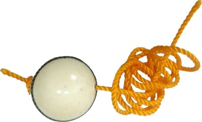 Whimsical Sports Stroke Leather Hanging Ball for Cricket(Pack of 1)
