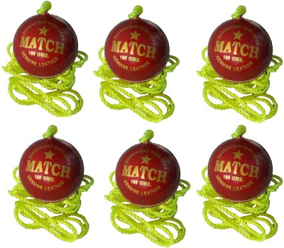 Port PSI2 Leather Hanging Ball for Cricket(Pack of 6)
