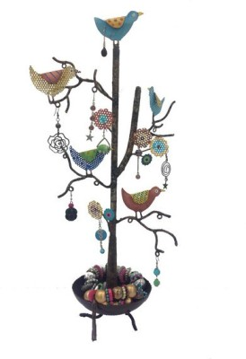 Bali Mantra 1 Bird with Bowl Jewelry Holder Jewellery Organizer