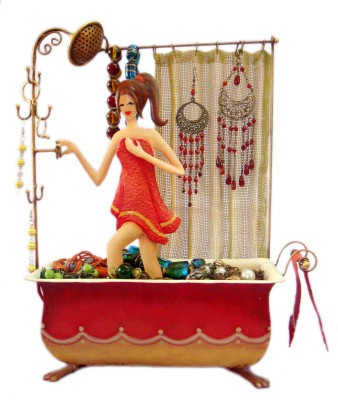 Bali Mantra Bath Tub Girl Jewellery Organizer