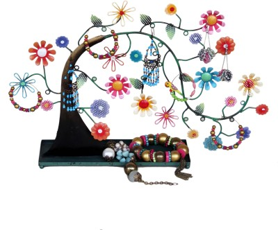 Bali Mantra Tree Of Life On Tray Jewellery Organizer