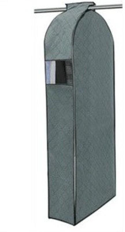 Melbon Medium Coat Cover Hanging Organizer (Grey) Closet Organizer( )