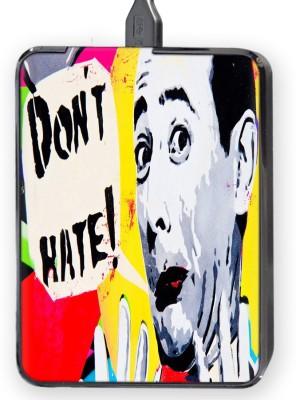 Shopkeeda Don,t Hate Hard Disk Skin By Shopkeeda Hard Disk Skin