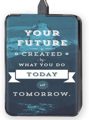 Shopkeeda Future today And tomorrow Hard Disk Skin By Shopkeeda Hard Disk Skin