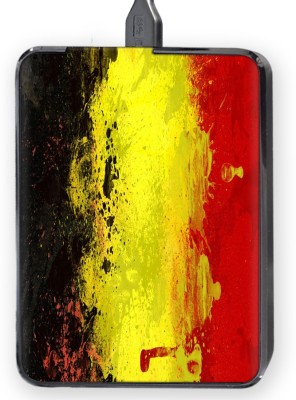 Shopkeeda Red Yellow Color Hard Disk Skin By Shopkeeda Hard Disk Skin