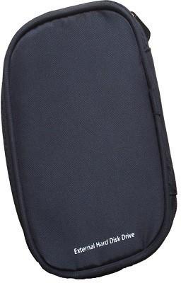 Protos External Portable Hard Disk Drive Pouch Cover 2.5 inch Soft Zipper Case