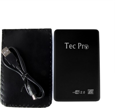 Tecpro USB 2.0 Srewless 2.5 inch Laptop Internal Hard Drive Enclosure