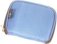SVVM WD-S37-SBL External Hard Disk Cover(For Western Digital, Sky Blue)