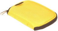 SVVM ALLS37Y External Hard Disk Cover(For Seagate, Western Digital, Dell, Sony, Buffalo, etc, Yellow)