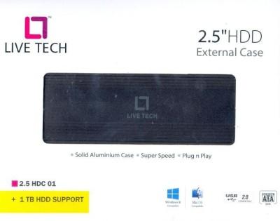 Live Tech LT - 2.5 Laptop Ext SATA Hard Disk Case