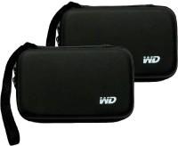 WD Hard Drive Case 2.5 inch External Hard Drive Case(For WD, Segate, etc, Black)