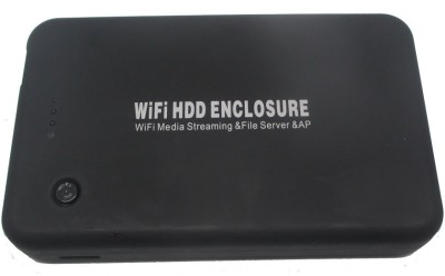 Artek Wireless Power Bank USB 3.0 SATA 2.5 inch Internal HDD Enclosure(For Sata HDD, Black)