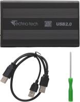 Technotech Hdd 2.5 Inch Internal Hard Drive Enclosure(For Sata, Black)