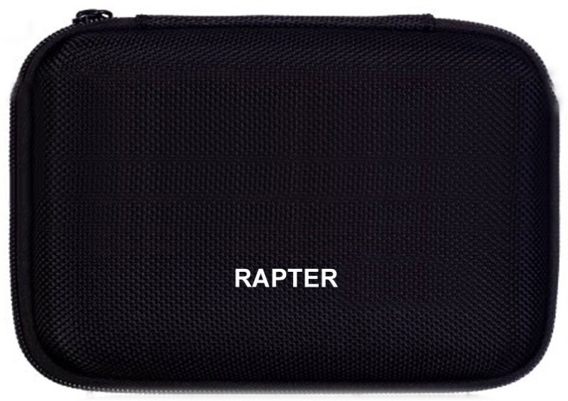 Rapter hard disk pouch 2.5 inch Internal Hard Drive Enclosure(For EXTERNAL PORTABALE HARD DRIVE 2.5 inch, Black)