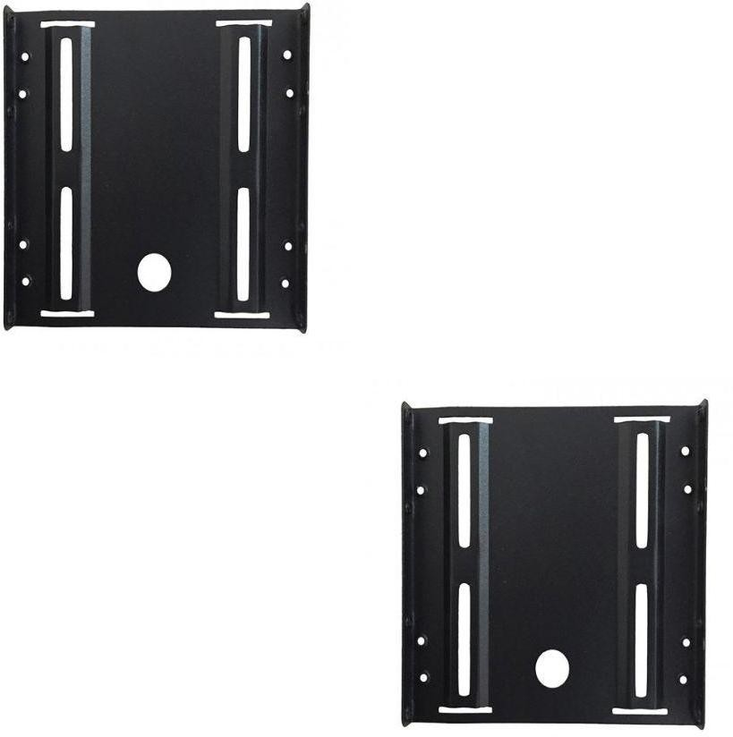 Storite 2.5 to 3.5 SSD HDD Mounting Bracket 2.5 inch Internal Hard Drive Enclosure(For Seagate - Wd - Toshiba - Intel - Corsair - Crucial - Ocz - Hitachi - Sandisk - Kingston - Samsung - Adata, Black)