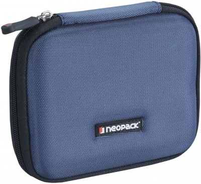 Neopack EVA Ultra HDD with Shockproof Lining 2.5 inch External HDD Hard Case /Cover /Pouch Enclosure(For WD My Passport Ultra, Seagate Backup Plus, Transcend StoreJet, Toshiba Canvio, Sony, Blue)