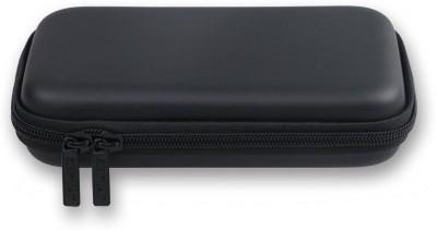 Technoax Pocket Leather case Cover For 2.5 inch external harddrive enclosure(For external harddrive, Black)