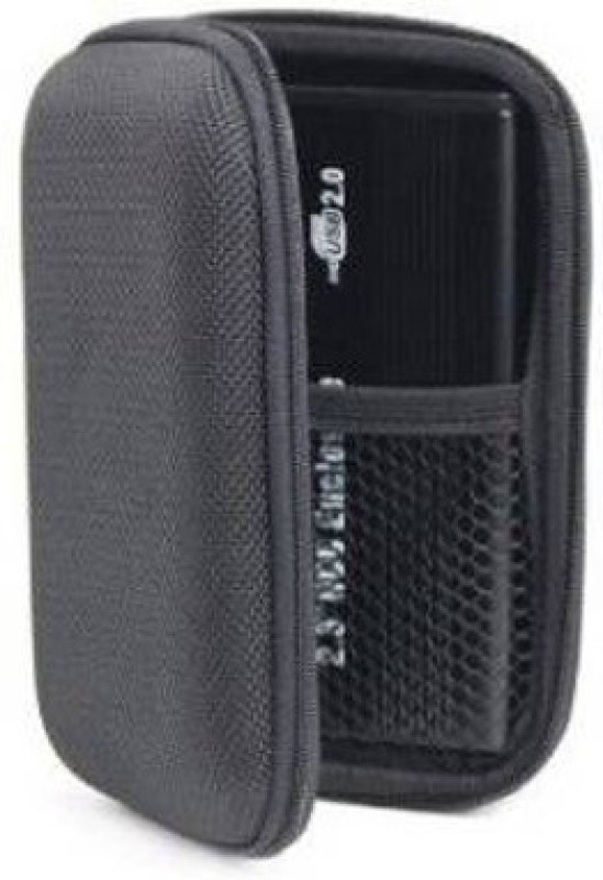 JPRS JP-BLACK-99 2.5 inch External HardDisk Case(For Sony, Toshiba, Dell, Trancend, Samsung, WD, HP, Seagate, Hitachi, Black)