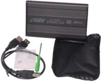 HashTag Glam 4 Gadgets HT 2.5 Inch HS HDD SATA 2.5 inch Internal Hard Drive Enclosure(For Seagate, Western Digital, Internal HDD, Black)