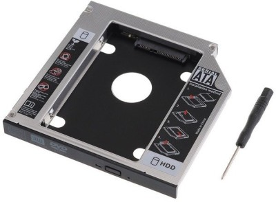 KARP 2nd HDD Bay Caddy 9.5mm Universal Sata 2.5 inch Internal Hard Drive Enclosure