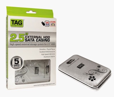 TAG 2.5,, Sata Casing USB 3.0 2.5 inch Hard Disk Case