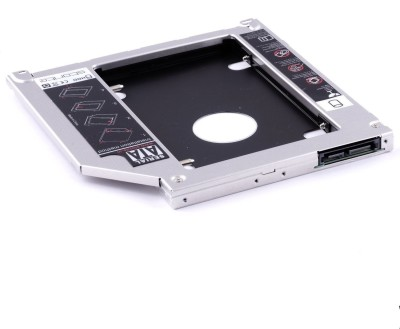 iConnect World 2nd Hard Drive Bay Caddy 9.5mm PATA/IDE to SATA for Laptops - 9.5mm - Expand Your Data Storage on Your Laptop 2.5 inch Internal Hard Drive Enclosure