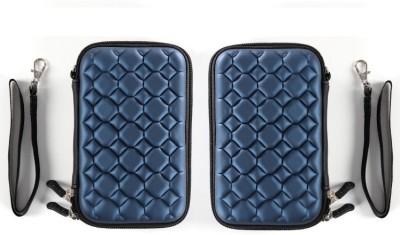 jprs Navy Blue Bubble 2.5 inch External case