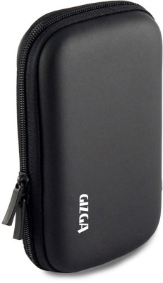 Gizga Essentials HDD 2.5 inch Hard Drive Case - HARD SHELL(For 2.5 inch Hard Drive, Black)