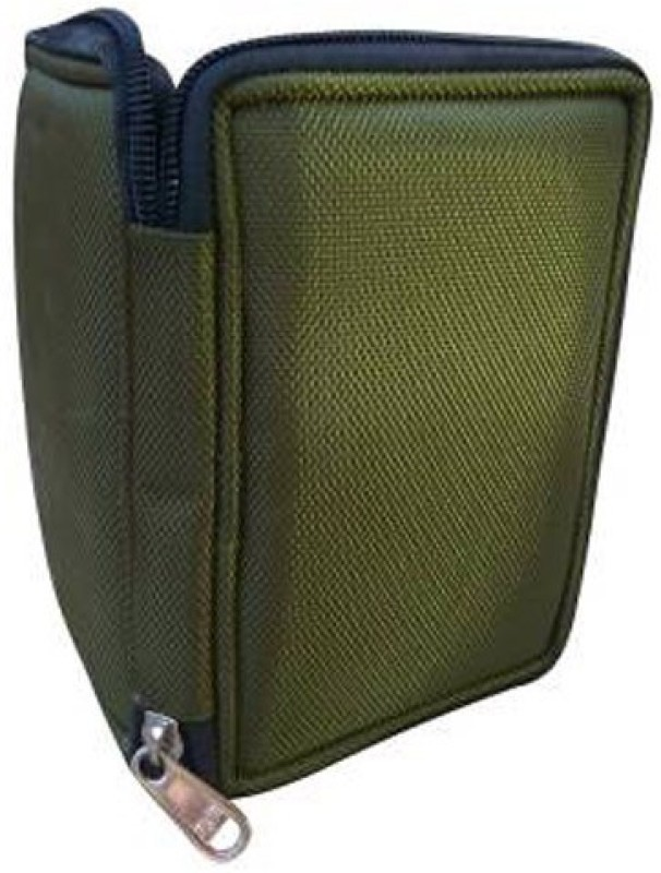 JPRS JP-Green 89 2.5 inch External HardDisk Case(For Toshiba, Seagate, Western Digital, Samsung, Hitachi, WD, HP, Trancend, Sony, Olive Green)