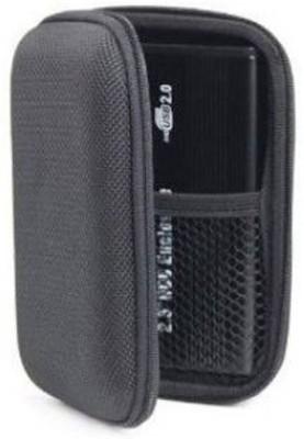 JPRS Shock Proof Portable 2.5 inch External Hard Disk Case(For HP, Dell, Sony, Western Digital, Trancend, Samsung, Toshiba, Black)