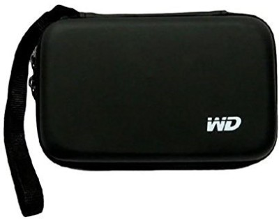 qls Hard Disk Drive Pouch case 2.5 inch hard drive cover(For 2.5 inch hard disk, Black)