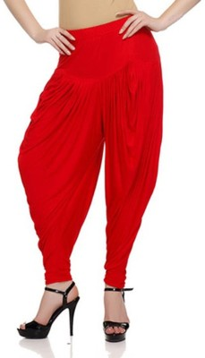 Stay Blessed Solid Viscose, Lycra Women's Harem Pants