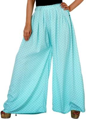 Damsel Printed Pure Crepe Women's Harem Pants