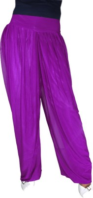 Anjan Solid Net Women's Harem Pants