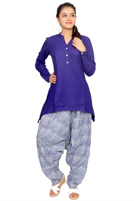 KA Striped Cotton Women's Harem Pants
