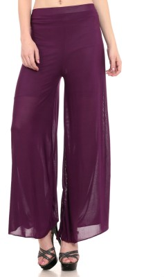 Laura Dennis Solid Viscose Women's Harem Pants