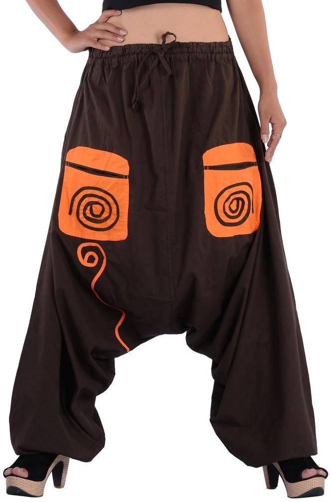 Indi Bargain Geometric Print Cotton Womens Harem Pants