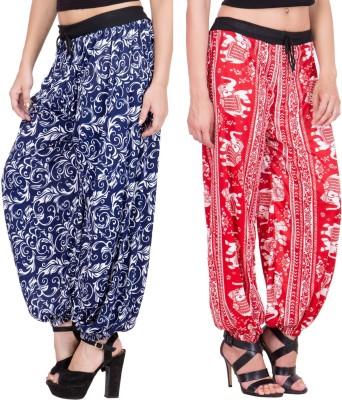 Adonia Printed Poly Cotton Women,s Harem Pants
