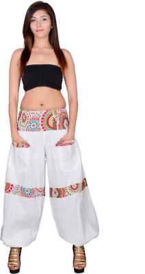 Uttam Enterprises Solid Cotton Women's Harem Pants