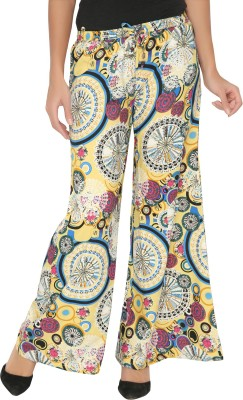 Philigree Printed Polyester Women's Harem Pants