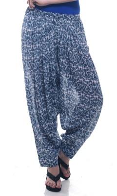 Lyla Printed Polyester Women's Harem Pants